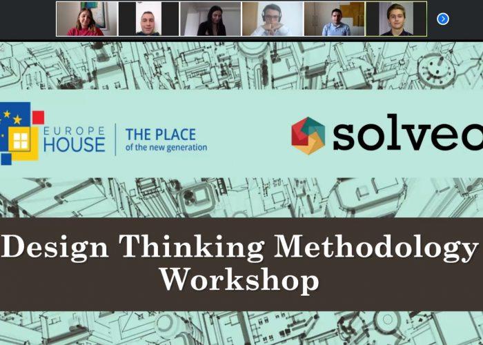 Првата Виртуелна Design Thinking Работилница ги охрабри младите да го креираат училиштето на иднината